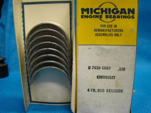 1962 - 86 Chevrolet Chevy 112 121 122 140 153 Cavalier Nova Rod Bearing Set 010