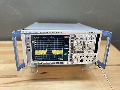 Rohde Schwarz Fsp 3 Spectrum Analyzer 9 Khz - 3 Ghz Opt B4 K7 Fm Demodulation