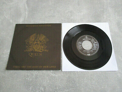 QUEEN: Bohemian Rapsody.., PARLOPHONE, 016 2046497, EEC, 7 / SINGLE, MINT, RARE!
