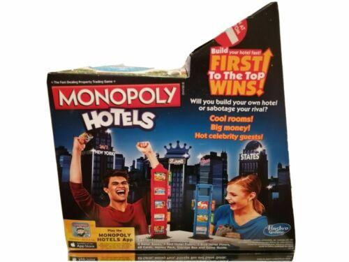HASBRO+GAMING+MONOPOLY+HOTELS+GAME+%282012%29+New+%26+Sealed+box+minor+damage+