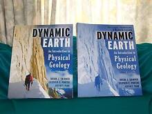 DYNAMIC EARTH - AN INTRODUCTION TO PHYSICAL GEOLOGY AND WORKBOOK Banksia Beach Caboolture Area Preview