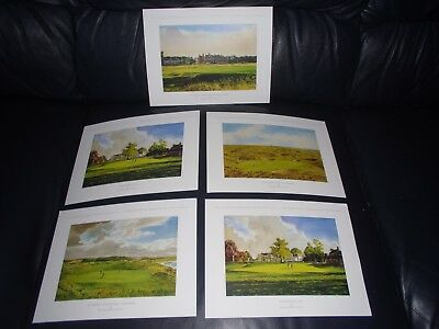 Collection Of Famous Golf Course Prints