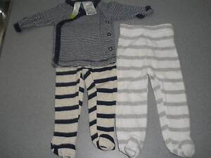 PREMMIE Size 00000 Leggings and Top with Mitten Sleeves Albany Creek Brisbane North East Preview