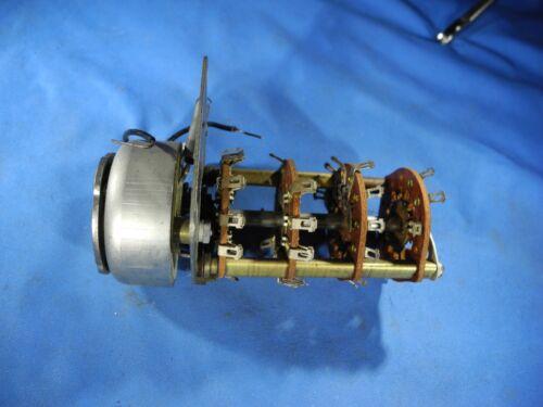 NOS Ledex Rotary Solenoid Selector Switch 76-2945 Radio Shack