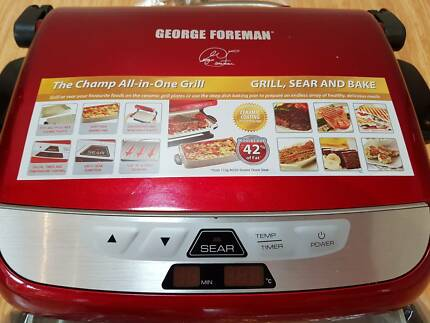 George Foreman Grill (Champ All in One) - **As New (never used