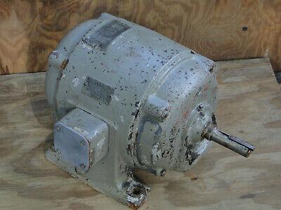 Sterling 3 Hp 3-phase Electric Motor 220440v 8542 Amp 1800 Rpm 1 Dia. Shaft