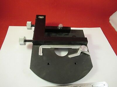 Carl Zeiss Germany Stage Table Micrometer Microscope Part 92-a-15