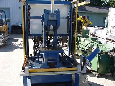 Hydraulic Press Lomar With Tooling Crimper Swager Punch Shear Stamp Post