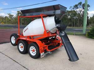 Cement Mixer CMX 1500 Mobile Concrete Batching Plant Trailer Applethorpe Southern Downs Preview