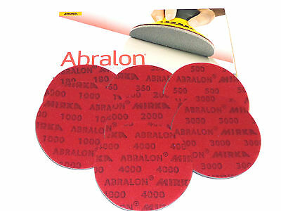 """One Box 6/"""" ABRALON PADS BRAND NEW 500 GRIT AUTHENTIC PADS BY MIRKA"""