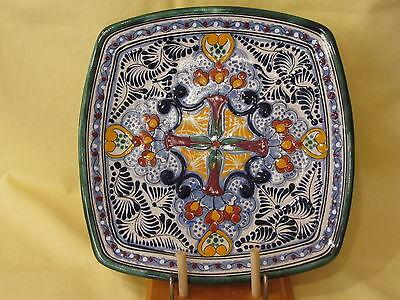 Signed Talavera Plate