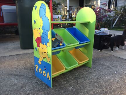 Pooh bear toy stand Wavell Heights Brisbane North East Preview
