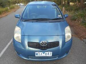 2006 Toyota Yaris Hatchback  LOW KS WITH REG AND ROADWORTHY!! Moorabbin Kingston Area Preview