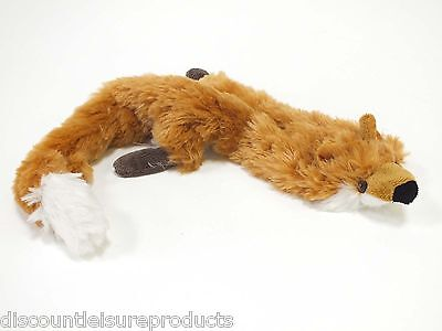 Good Boy Dog/Puppy Toy - Raggy Fox Unfilled Stuffing Free, Soft Comfort
