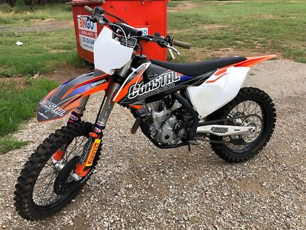KTM 350 SX-F 2016 Rouse Hill The Hills District Preview
