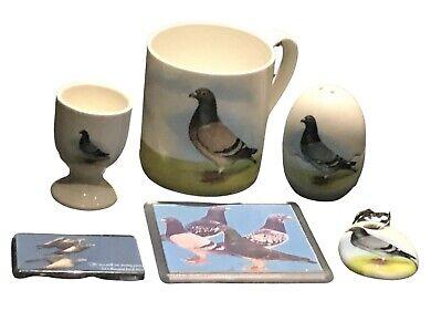 Racing pigeon mug gift set christmas gift present xmas gift