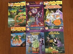 Geronimo stilton books x 6