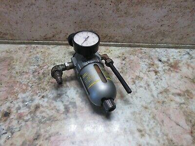 Takisawa Tc-2 Cnc Lathe Air Filter Regulator Smc W Psi Gauge