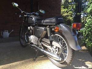 1968 Honda CD175 Twin Stirling Adelaide Hills Preview