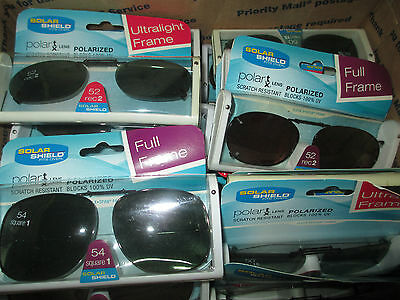 36 PACK Solar Shield ULTRALIGHT  Polarized Clip On  Sunglasses CHEAPEST ON EBAY  - Cheapest Sunglasses