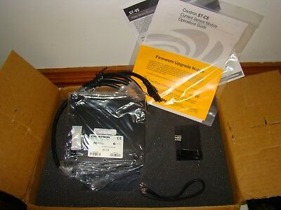 Crestron ST-CS Current Sensor Module w/ Operations Guide & AC Adapter, NIB