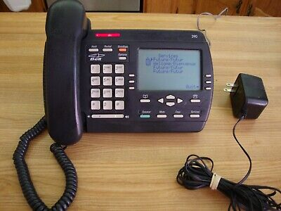 -  VINTAGE AASTRA CHARCOAL VISTA 390 DESK TELEPHONE MADE IN MEXICO