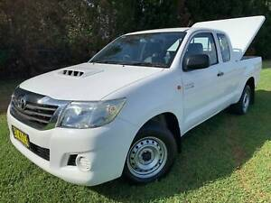 2012 Toyota Hilux SR EXTRA CAB TURBO DIESEL MANUAL Ute Richmond Hawkesbury Area Preview