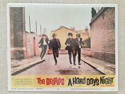The Beatles - Hard Day's Night Lobby Card (Reprint) Wright Molonglo Valley Preview