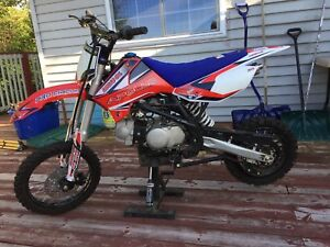 2017 apollo Rfz 125 pit bike with parts bike and field car