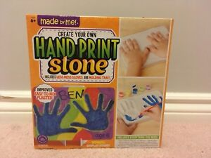 BRAND NEW Made by Me Handprint Stone