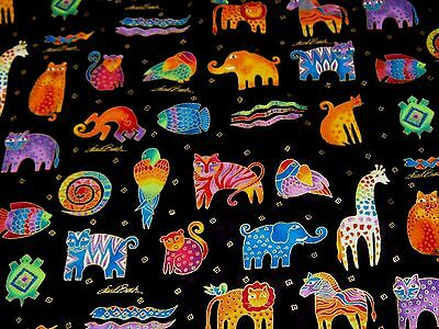 "Ткань Laurel Burch""MYTHICAL JUNGLE"" By the"