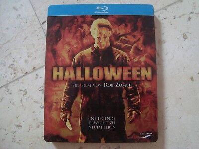 Rob Zombie HALLOWEEN *RARE* Blu-Ray SteelBook LIMITED 1 time EDITION (Halloween Rob Zombie 1)