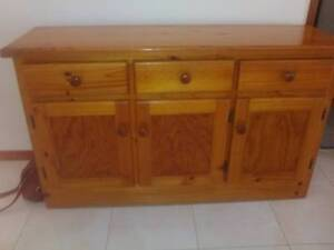 Solid pine buffet Sandgate Brisbane North East Preview
