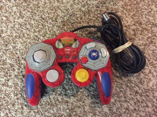 Marvel Ultimate Spider-Man Spider-Pad Gamecube Turbo Controller Naki RARE!