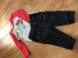 Baby under armour outfit