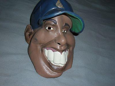 stupid rubber halloween mask bubba ball player teeth funny rubies costume co