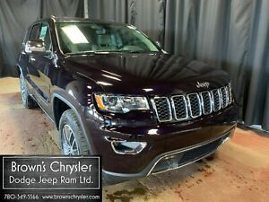 2018 Jeep Grand Cherokee Limited.Heated Leather,NAV.PWR Sunroof