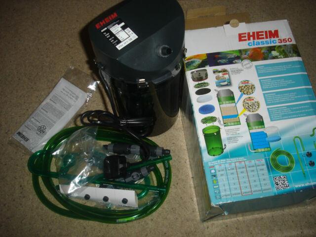 Eheim Classic 350 2215 Aquarium External Filter and Media 120-350L - BNIB