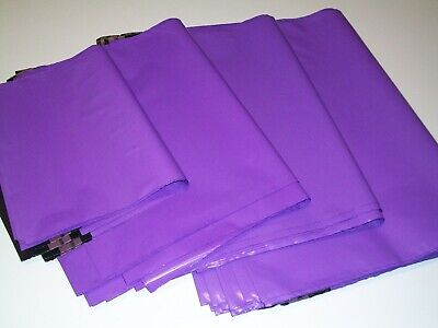 50 VIOLET mix sizes Mailing Poly Postal Bags Packaging Postage Mailers Envelopes