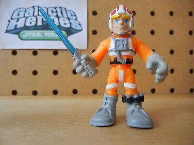 Playskool Star Wars Galactic Heroes / Jedi Force LUKE SKYWALKER Snowspeeder Suit