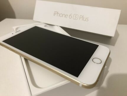 IPHONE 6S PLUS 64GB GOLD LIKE NEW CONDITION WARRANTY 1.2018