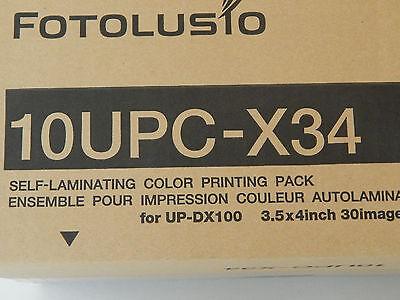 DNP 10UPC-X34 Media for Sony UPX-C300,200,100,UP-DX100