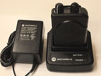 Motorola Minitor V 5 Low Band Pagers 33-37 Mhz 2-channel Stored Voice