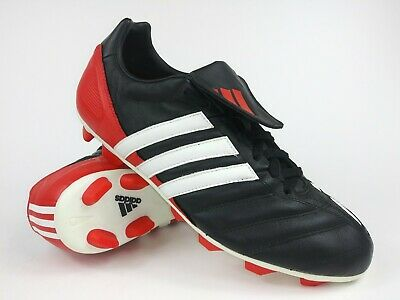 Adidas 11Nova Traxion TF Kids Football Boots BlackRed UK5