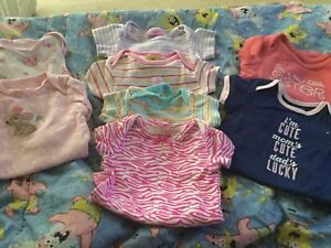Baby Girl Diaper Shirts