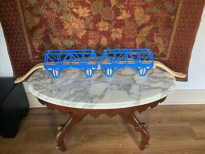 Thomas Wooden Train Set Lot Sodor Bay Bridge Track Supports Risers '03 RETIRED