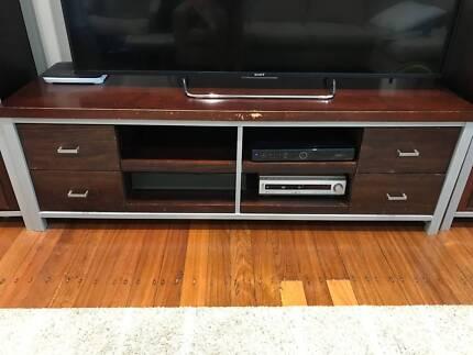 Lowline Entertainment Furniture Unit - 4 Drawer