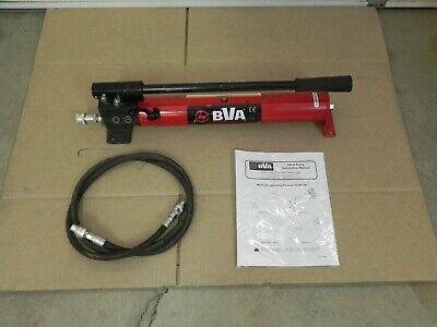 Bva Hydraulics Single Speed Hand Pump P1000 With Hose. Equal Greenlee 767