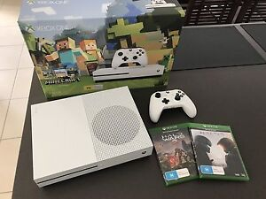 Xbox One S 500GB + 2 Games Burpengary Caboolture Area Preview