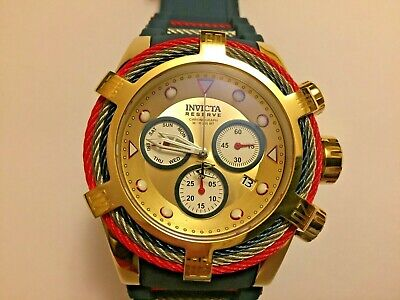 Invicta Reserve Men's 53mm Bolt Zeus Tri Cable swiss Quartz Chronograph [27147]